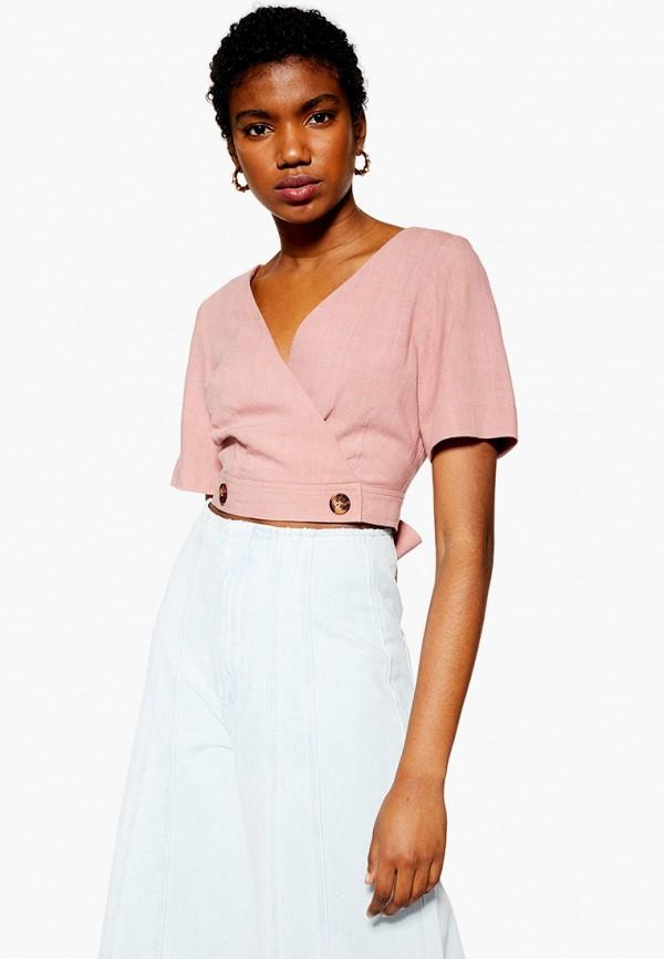 Фото - женскую блузку Topshop розового цвета