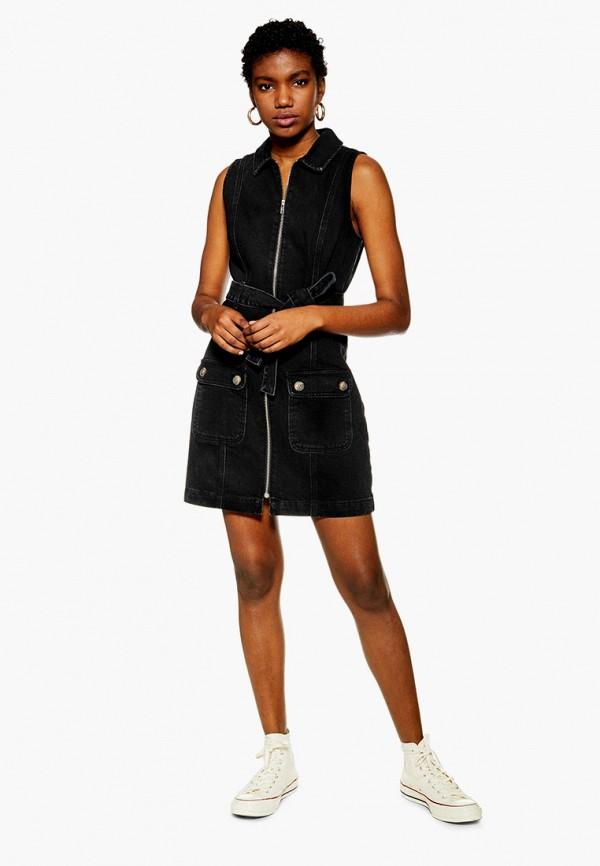 Платье джинсовое Topshop Topshop TO029EWFOFI2 цена в Москве и Питере