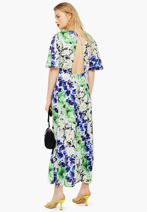 Фото 2 - женское платье Topshop разноцветного цвета