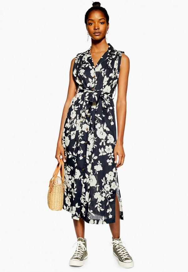 Фото - женское платье Topshop черного цвета