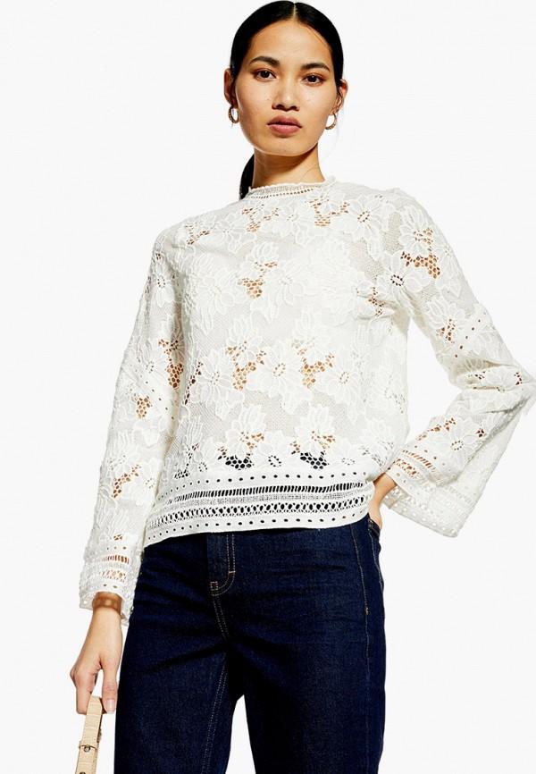 Фото - женскую блузку Topshop белого цвета