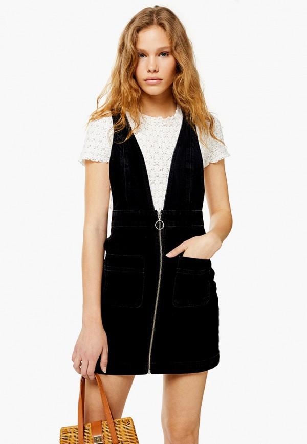 Платье джинсовое Topshop Topshop TO029EWFVCG3 платье topshop topshop to029ewezbm2