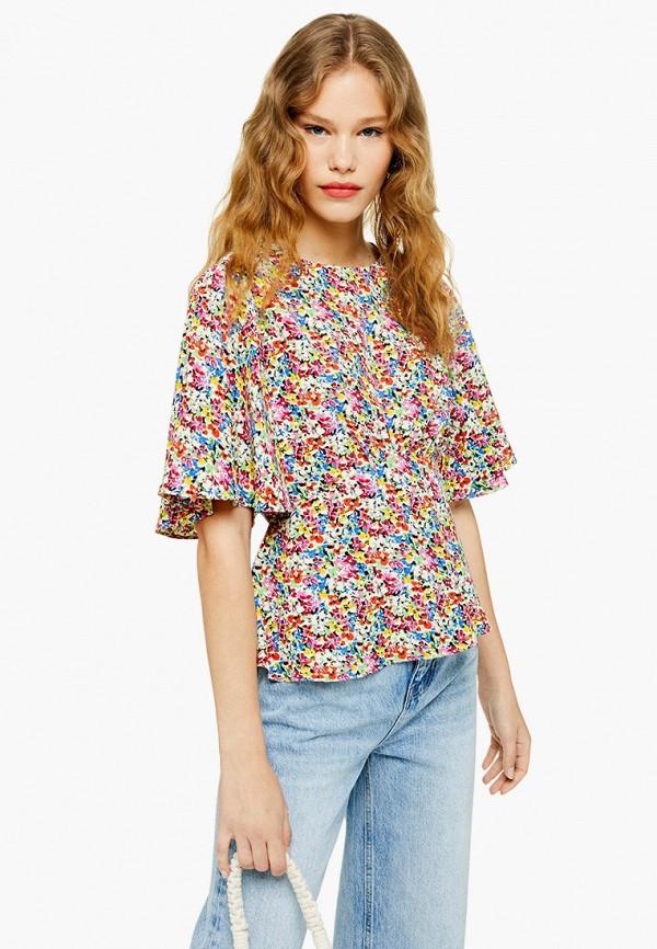 Блуза Topshop Topshop TO029EWFVCH2 цена и фото