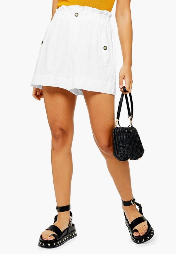Фото - Женские шорты Topshop белого цвета