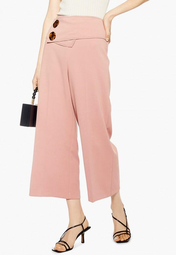 женские брюки topshop, розовые