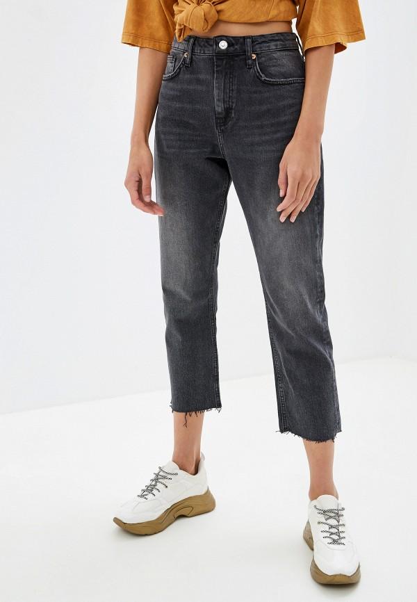 женские прямые джинсы topshop, черные