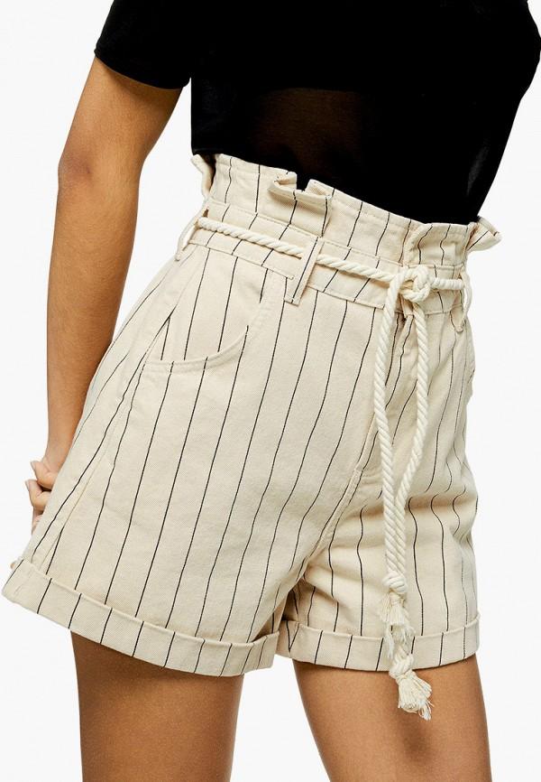 Фото - Женские шорты Topshop бежевого цвета