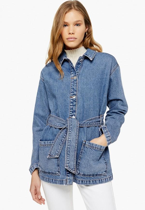 Куртка джинсовая Topshop Topshop TO029EWGDOY6 джинсы topshop topshop to029eweipx5