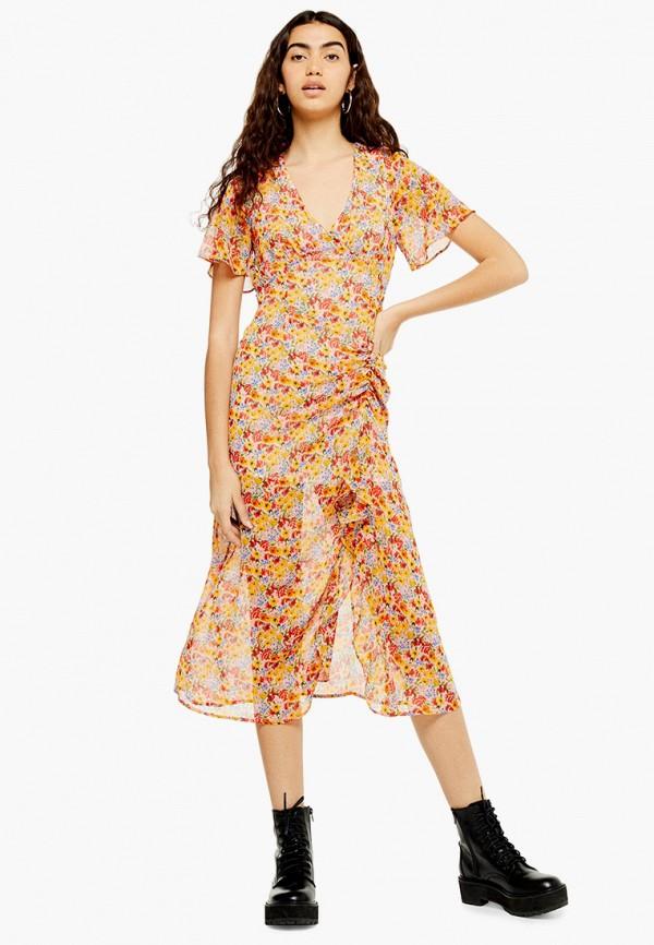 Платье Topshop Topshop TO029EWGKCW0 платье topshop topshop to029ewfofj2