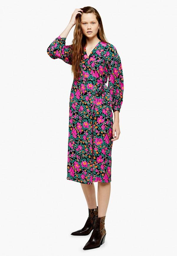 женское платье topshop, розовое