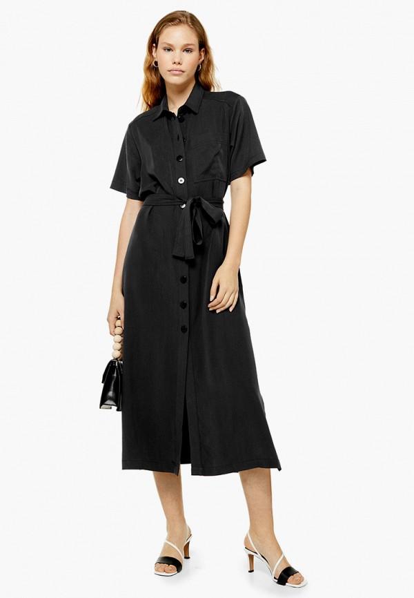 женское платье topshop, черное