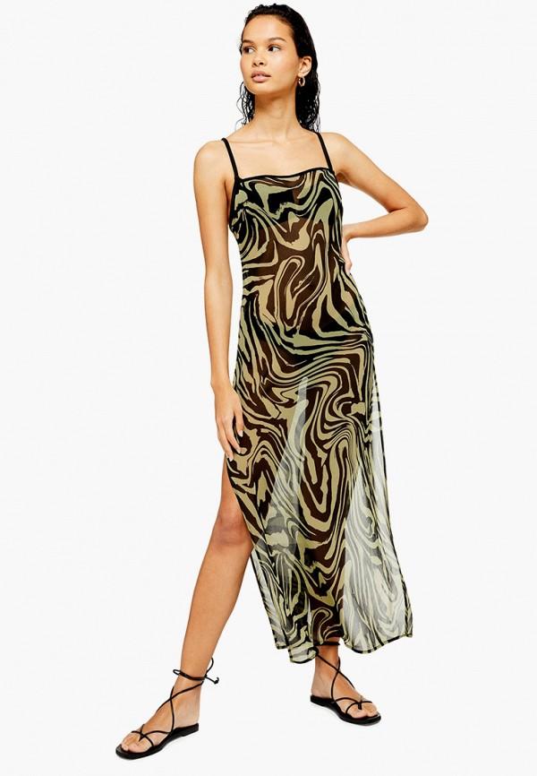 Платье пляжное Topshop Topshop TO029EWGKDT8