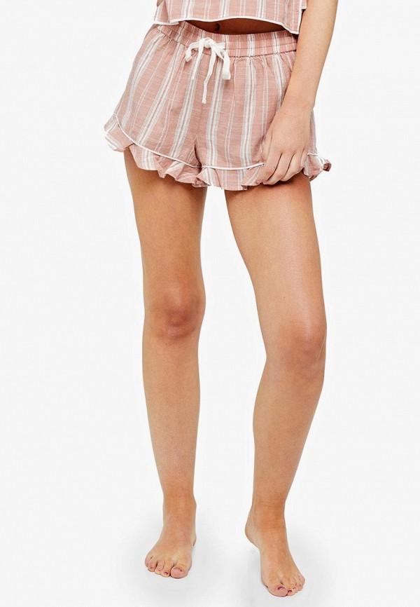 женские шорты topshop, розовые