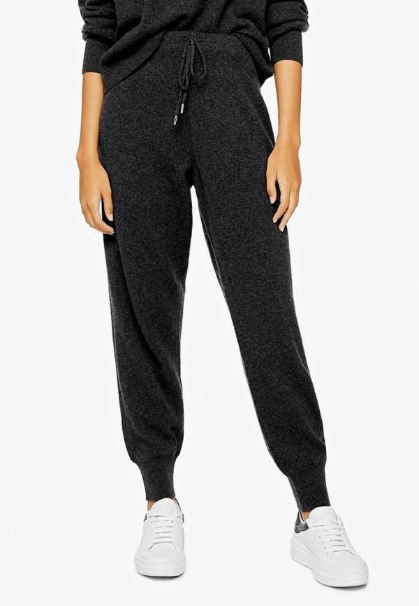 женские брюки topshop, серые