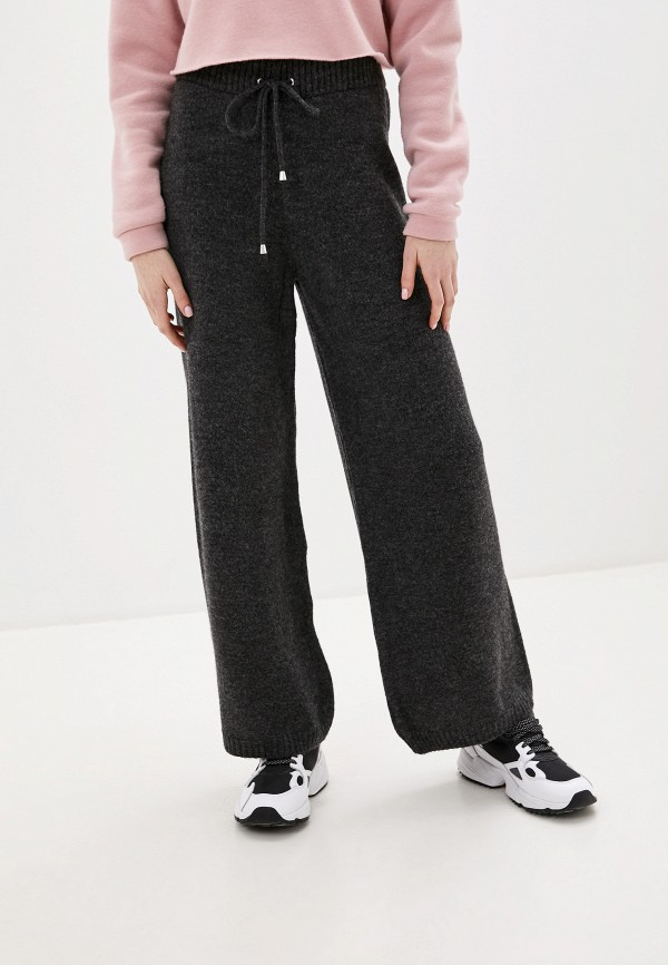 женские повседневные брюки topshop, серые
