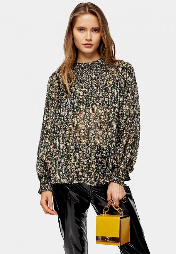 женская блузка topshop, разноцветная
