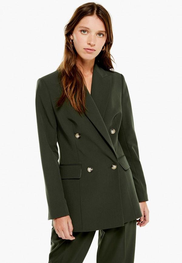 женский пиджак topshop, хаки