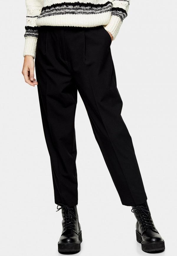 женские классические брюки topshop, черные