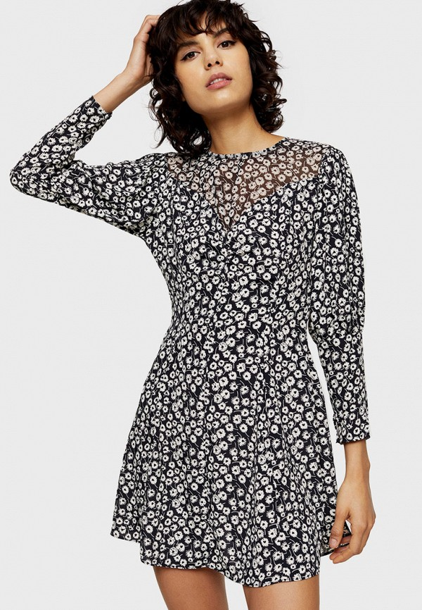 Платье Topshop Topshop TO029EWHLYL8 платье topshop topshop to029ewfstv4
