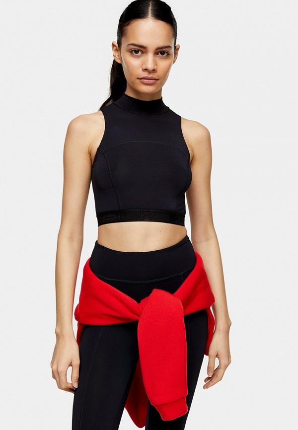 женский спортивный костюм topshop, черный