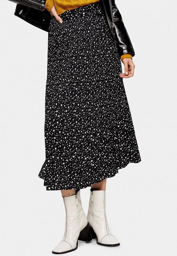 женская юбка topshop, черная