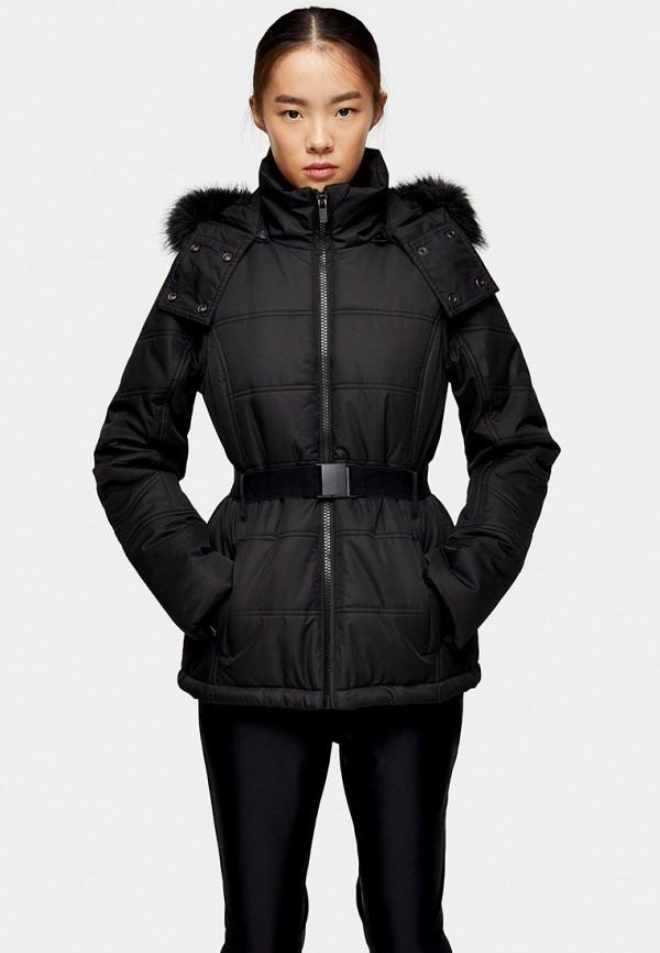 женская куртка topshop, черная