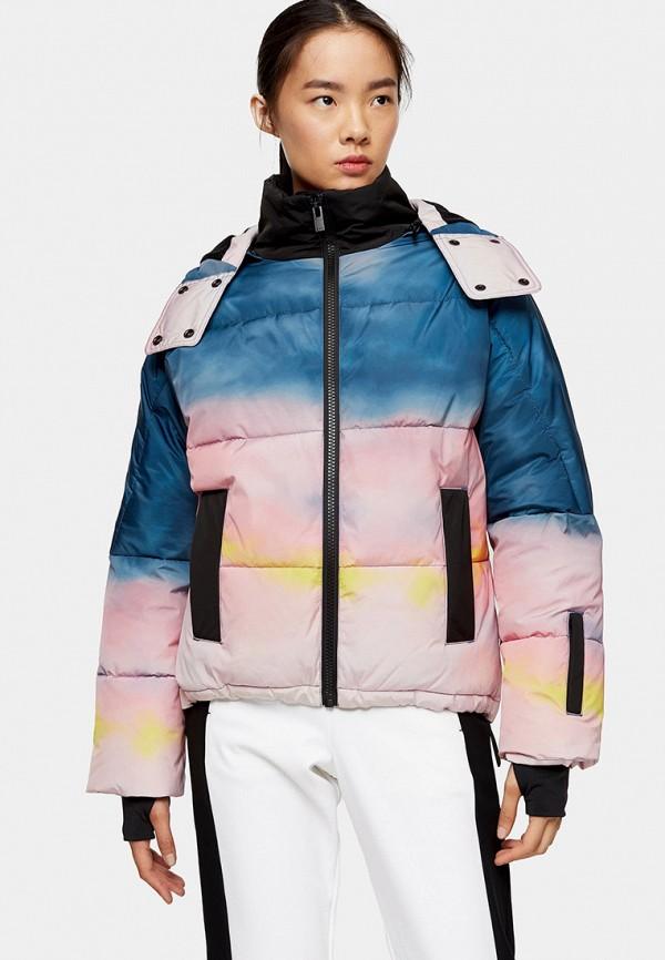 женская куртка topshop, разноцветная
