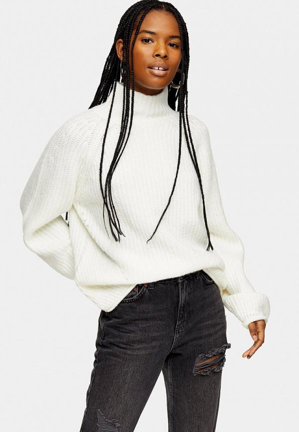 женский свитер topshop, белый