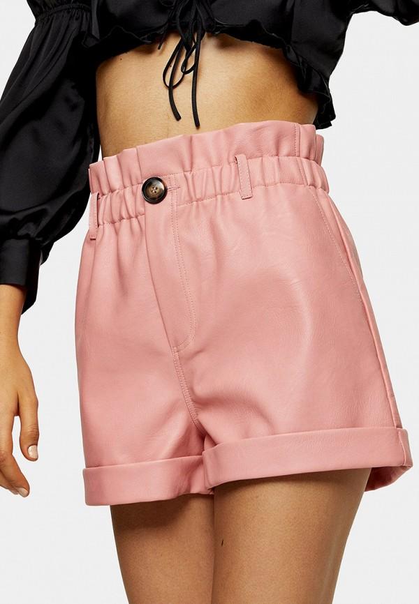 женские повседневные шорты topshop, розовые