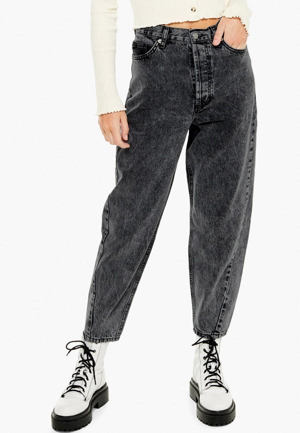 женские джинсы бойфренд topshop, серые