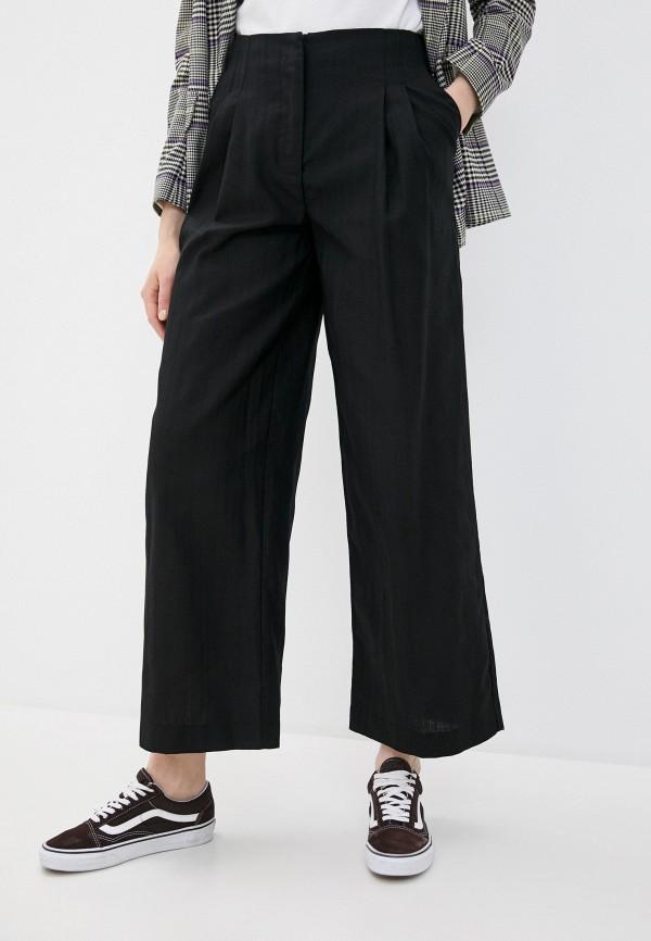 женские повседневные брюки topshop, черные