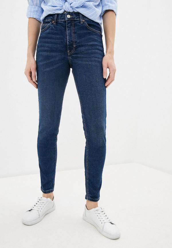 женские джинсы topshop, синие