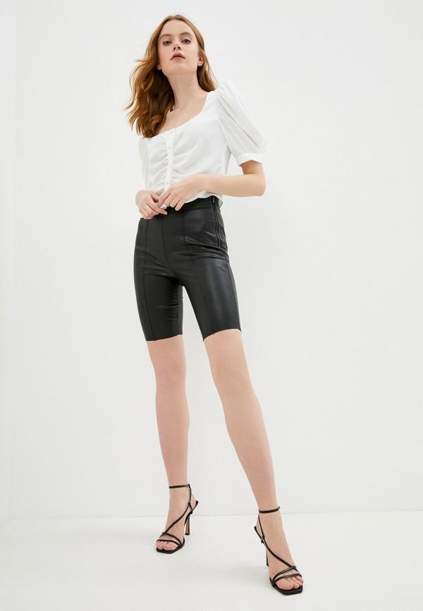 женские повседневные шорты topshop, черные