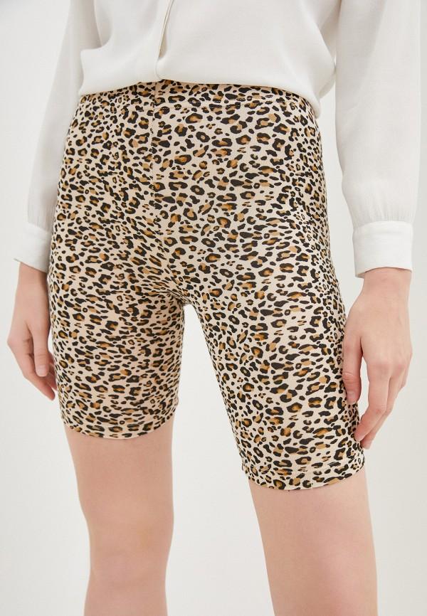 женские повседневные шорты topshop, коричневые