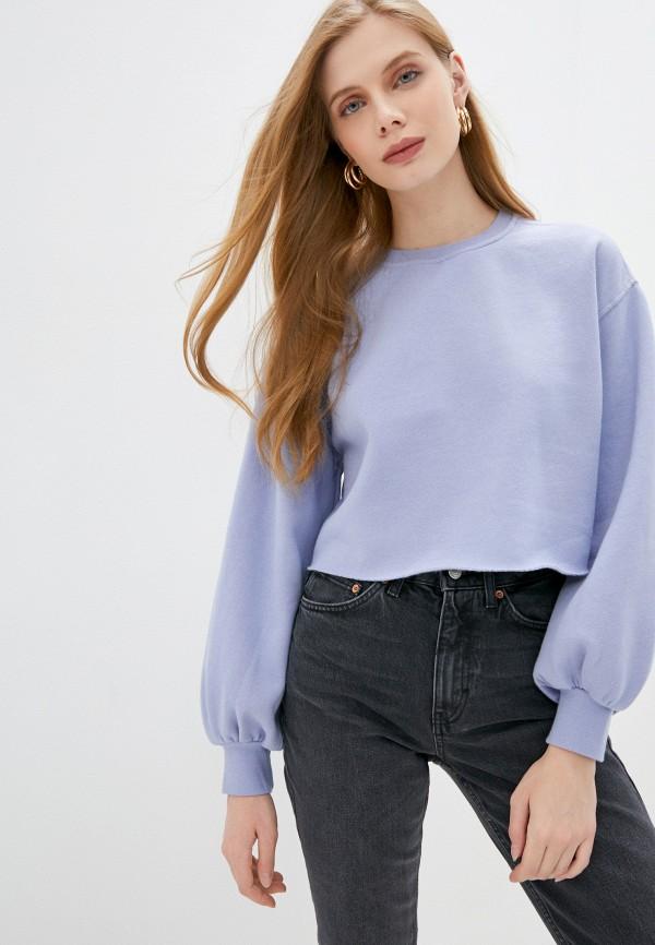 женский свитшот topshop, фиолетовый