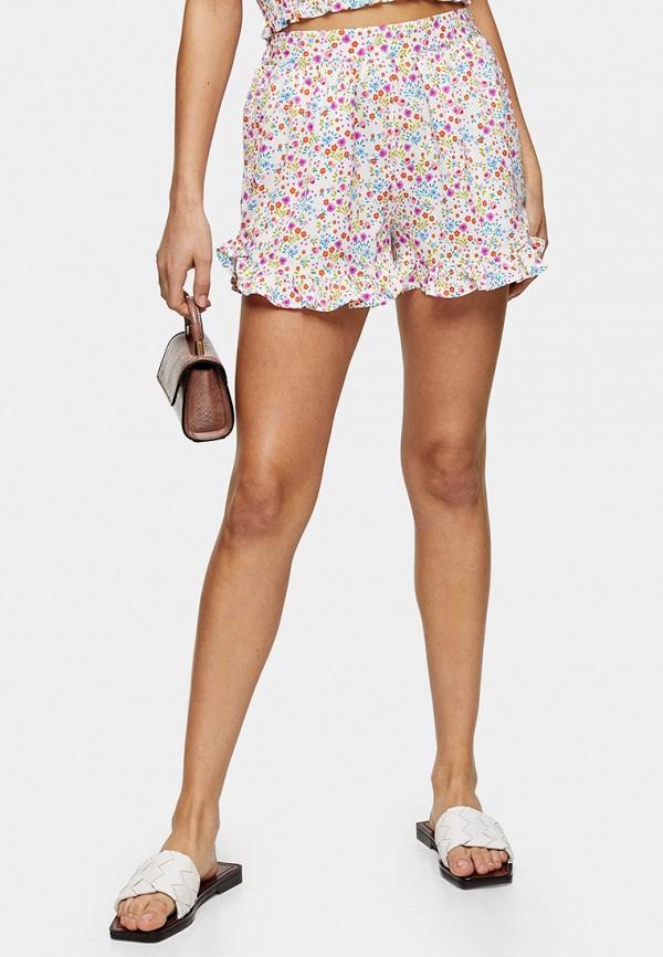 женские повседневные шорты topshop, белые