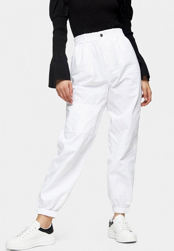 женские повседневные брюки topshop, белые