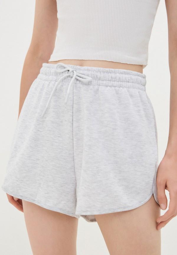 женские спортивные шорты topshop, серые