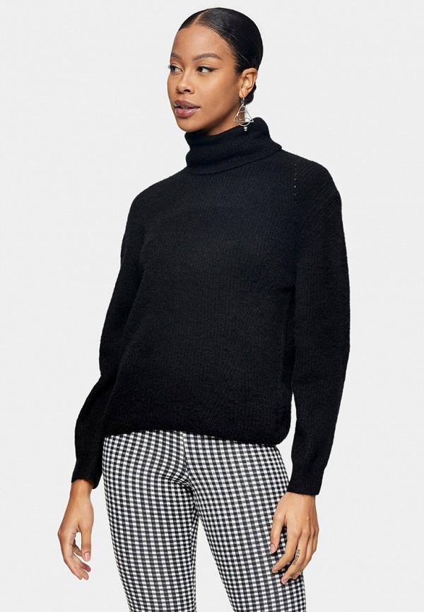женский свитер topshop, черный