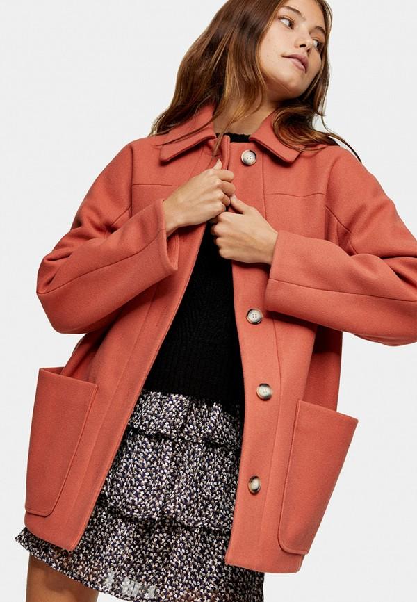 женское пальто topshop