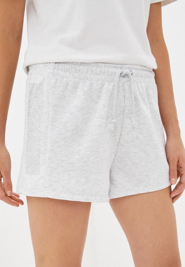 женские шорты topshop, серые