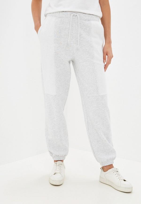 женские спортивные брюки topshop, серые