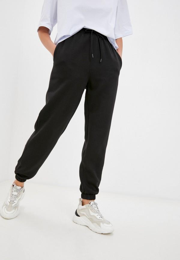 женские спортивные брюки topshop, черные