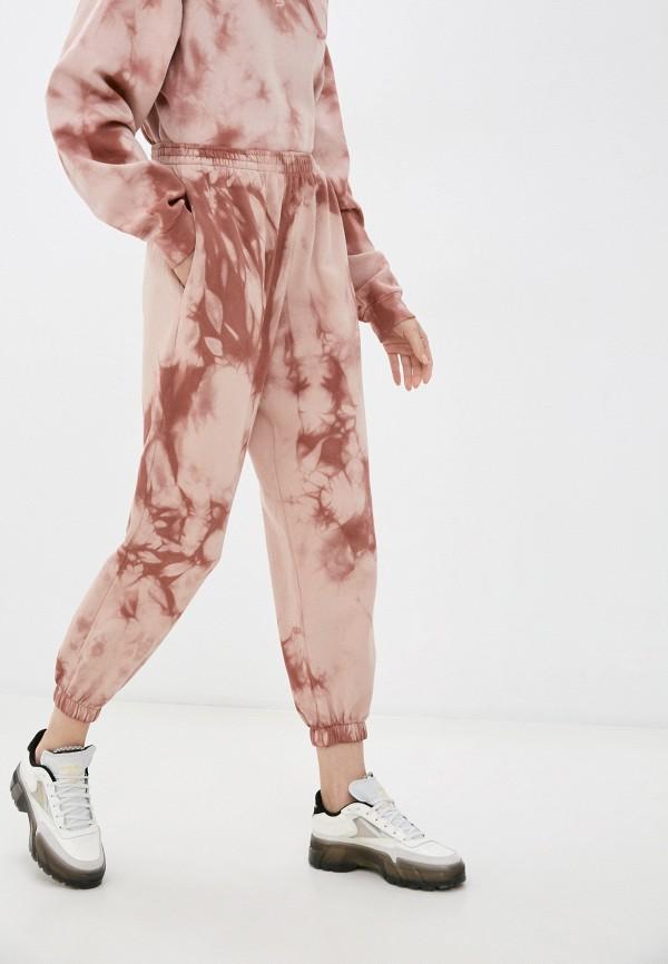 женские спортивные брюки topshop, розовые