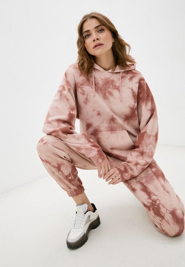женские худи topshop, розовые