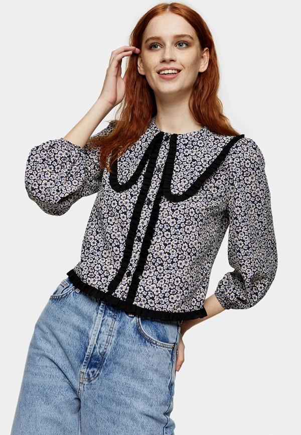 женская блузка topshop, серая