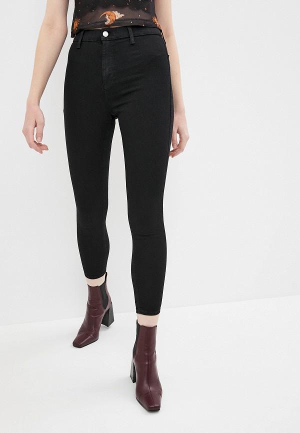 женские джинсы скинни topshop, черные