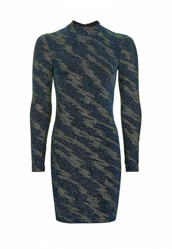 Купить Платье Topshop, to029ewnkc49, синий, Осень-зима 2016/2017