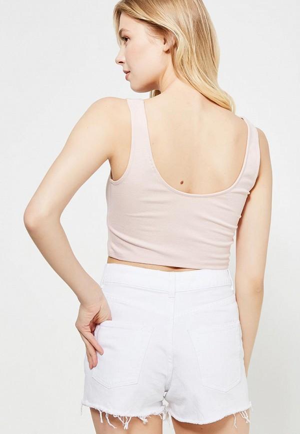 Фото 7 - женский топ Topshop розового цвета
