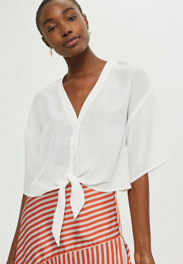 Купить Блуза Topshop, to029ewzlu15, белый, Осень-зима 2017/2018